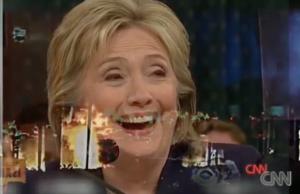Trump Ad Clinton laughing Benghazi