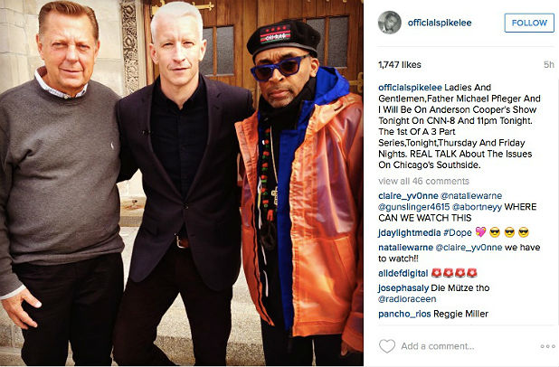 Spike Lee Instagram copy