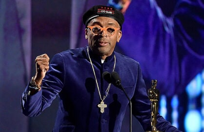 HOLLYWOOD, CA - NOVEMBER 14: Filmmaker Spike Lee accepts an award onstage during the Academy of Motion Picture Arts and Sciences' 7th annual Governors Awards at The Ray Dolby Ballroom at Hollywood & Highland Center on November 14, 2015 in Hollywood, California. (Photo by Kevin Winter/Getty Images)