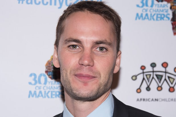 NEW YORK, NY - NOVEMBER 20 :Taylor Kitsch  arrives at  the 6th Annual African Children's Choir Changemakers Gala  at City Winery on November 20, 2014 in New York City.  (Photo by Dave Kotinsky/Getty Images)