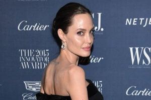 Angelina Jolie shoot like a girl