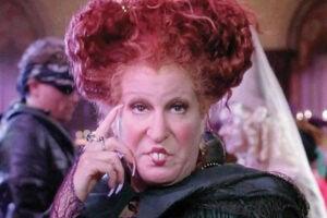 """Bette Midler in """"Hocus Pocus"""""""