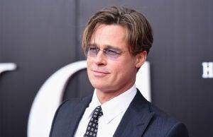 Brad Pitt at Big Short NYC Premiere