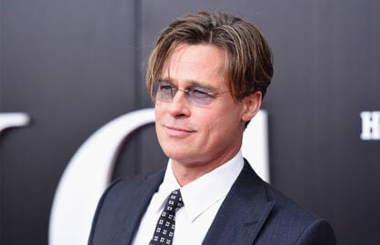 Brad Pitt at Big Short NYC Premiere