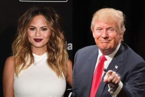 "Chrissy Teigen Calls Donald Trump a ""Twat"" on Twitter"