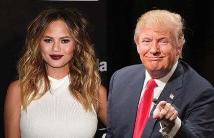 "Chrissy Teigen Calls Donald Trump a ""Twat"" on Twitter"