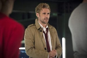 "Arrow -- ""Haunted"" -- Image AR404B_0053b.jpg -- Pictured: Matt Ryan as Constantine -- Photo: Cate Cameron/ The CW -- © 2015 The CW Network, LLC. All Rights Reserved."