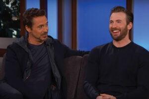 "Downey Jr. and Evans talk ""Civil War"""