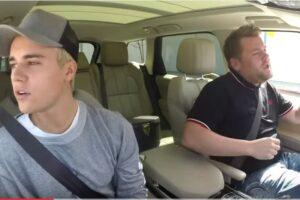 Justin Bieber Carpool Karaoke James Corden