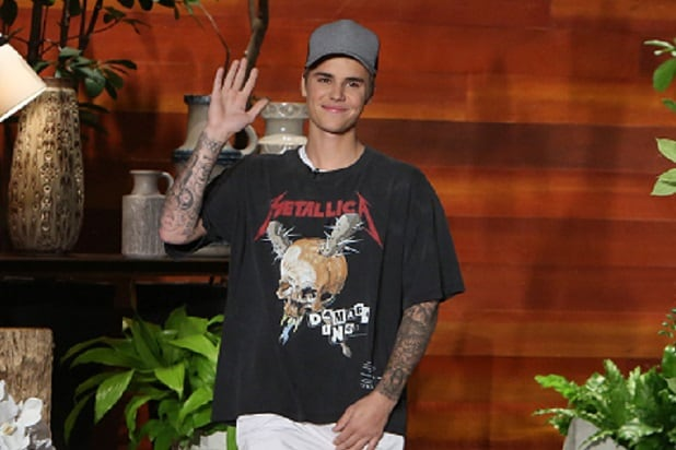 Justin Bieber Enrages Metallica Fans by Wearing Band's T