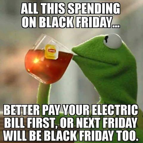 20 Hilarious Black Friday Memes