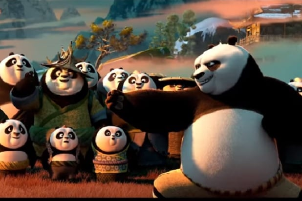 A still from Kung-Fu Panda