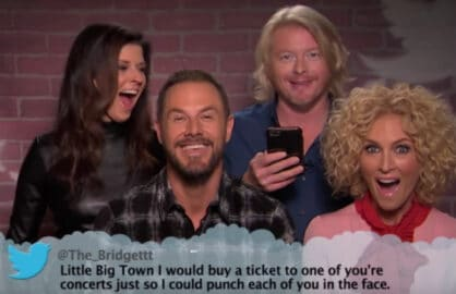 Mean Tweets Country Music