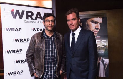 Michael Shannon, Ramin Bahrani at TheWrap Screening Series