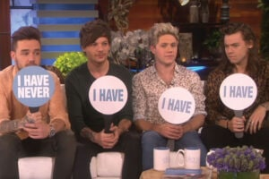 "One Direction on ""Ellen"""