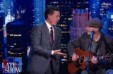 Stephen Colbert James Taylor Fire and Rain