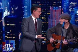 Stephen Colbert James Taylor Fire and Rain
