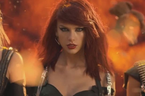 Taylor Swift in the video for Bad Blood
