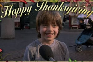 Jimmy Kimmel Asks kids what they are thankful for