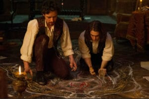 DF-03663 – James McAvoy and Daniel Radcliffe star as Victor Frankenstein and his friend and assistant Igor, in VICTOR FRANKENSTEIN, a dynamic and thrilling twist on a legendary tale.