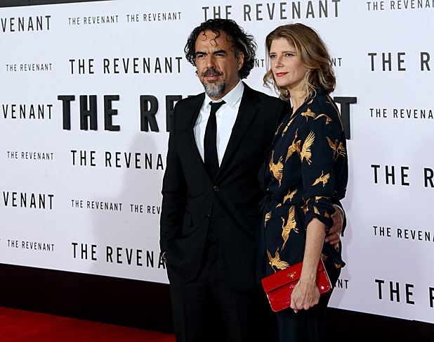 Director/writer Alejandro G. Inarritu and Maria Eladia/GettyImages