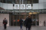 BBC building entrance