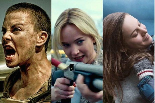 Charlize Theron, Jennifer Lawrence, Brie Larson