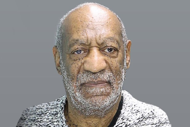 Bill Cosby mugshot: William H. Cosby poses for a mugshot photo during his arraignment December 30, 2015 in Elkins Park, Pennsylvania. Cosby was arraigned at 2:30 p.m. before Magisterial District Judge Elizabeth McHugh and charged with Aggravated Indecent Assault. Bail was set at $1 million under the condition that he surrender his passport and have no contact with the victim. Cosby was released.after posting $100,000, the required 10 percent of bail. (Photo by Montgomery County District Attorney's Office via Getty Images