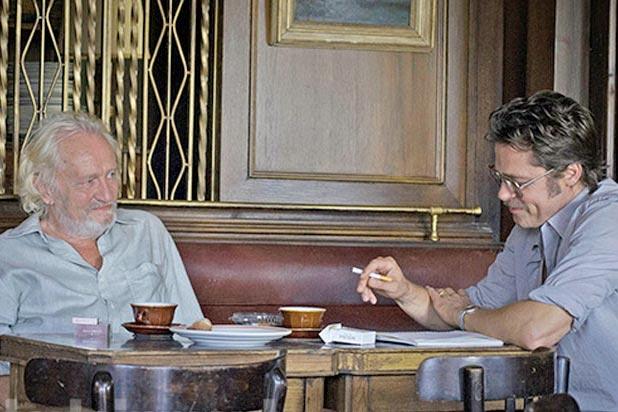 Niels Arestrup, Brad Pitt