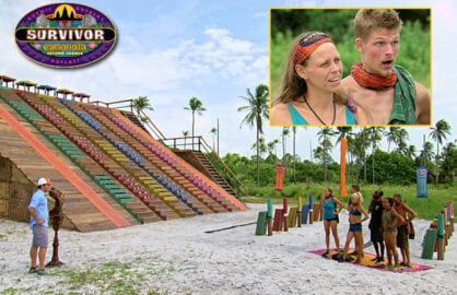 """""""Survivor: Second Chances"""" crowned a winner from amongst the cast of 20 previous losers at CBS Television City on Wednesday night, December 16. (Courtesy of CBS)"""