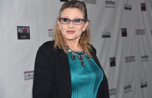 "Carrie Fisher says she had to lose 35lbs for ""The Force Awakens"""