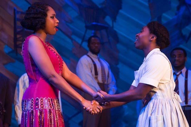 "Jennifer Hudson and Cynthia Erivo in ""The Color Purple"""