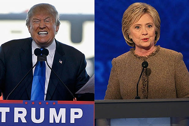 Donald Trump and Hillary Clinton