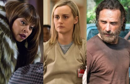 Empire, Orange Is the New Black, The Walking Dead