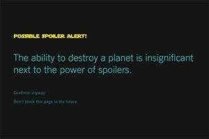 Force Block Star Wars Spoilers