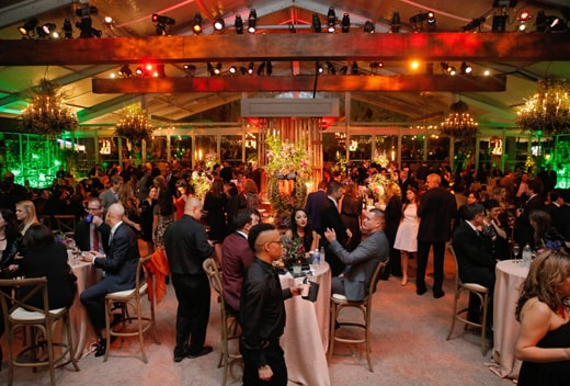 A general view of atmosphere is seen at FOX's 72nd annual Golden Globe Awards Party at the Beverly Hilton Hotel on Sunday, Jan. 11, 2015, in Beverly Hills, Calif. (Photo by Todd Williamson/Invision for Fox Searchlight/AP Images)