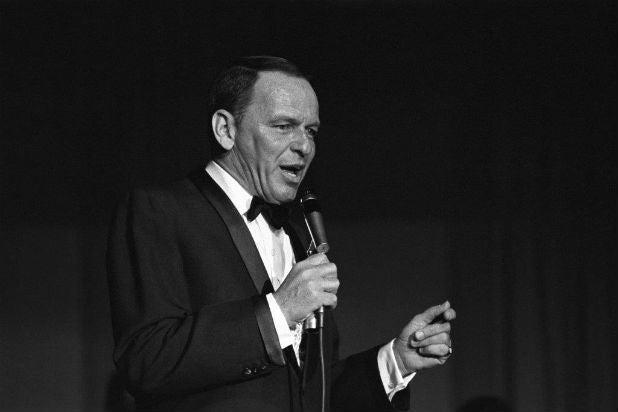 Frank Sinatra trump inauguration