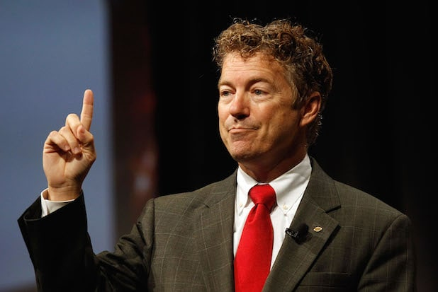 Rand Paul And Rick Perry Address Defending the American Dream Summit