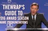 Dennis Quaid at Golden Globes nomination announcement