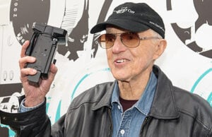 EDINBURGH, SCOTLAND - JUNE 26: Haskell Wexler poses for photographers at Filmhouse during the Edinburgh International Film Festival 2015 at Filmhouse on June 26, 2015 in Edinburgh, Scotland. (Photo by Roberto Ricciuti/Getty Images)