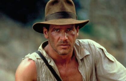 Indiana Jones Harrison Ford Only Actor