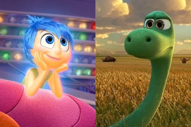 Inside Out and The Good Dinosaur