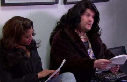 James Corden Taraji P. Henson Empire Auditions
