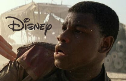 Disney logo Star Wars