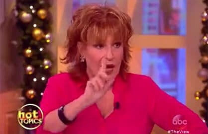 Joy Behar on Donald Trump