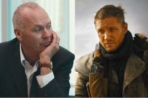 Michael Keaton in Spotlight and Tom Hardy in Mad Max: Fury Road