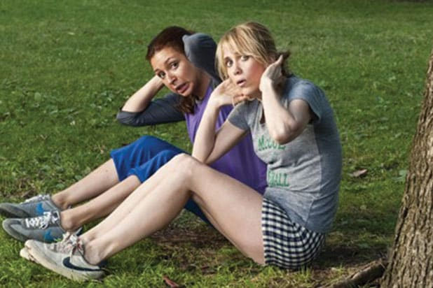 "Kristen Wiig, Maya Rudolph in ""Bridesmaids"""