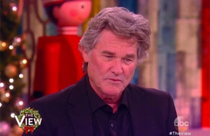Kurt Russell The View