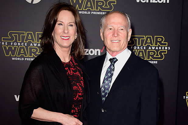 Kathleen Kennedy Lucasfilm and Frank Marshall