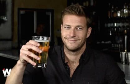 Luke Bracey Drinking with the Stars Point Break